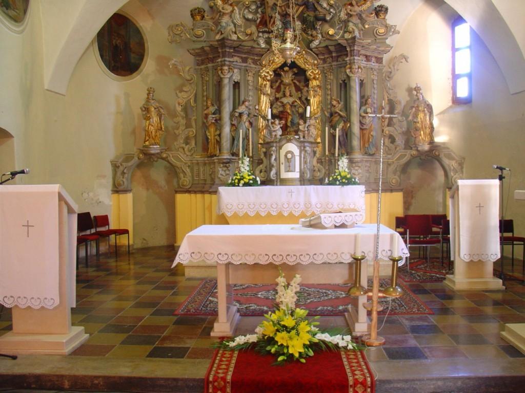 Oltar sv. Katarine Aleksandrijske